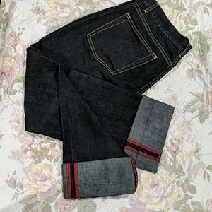 The Limited fold over Jeans Capri